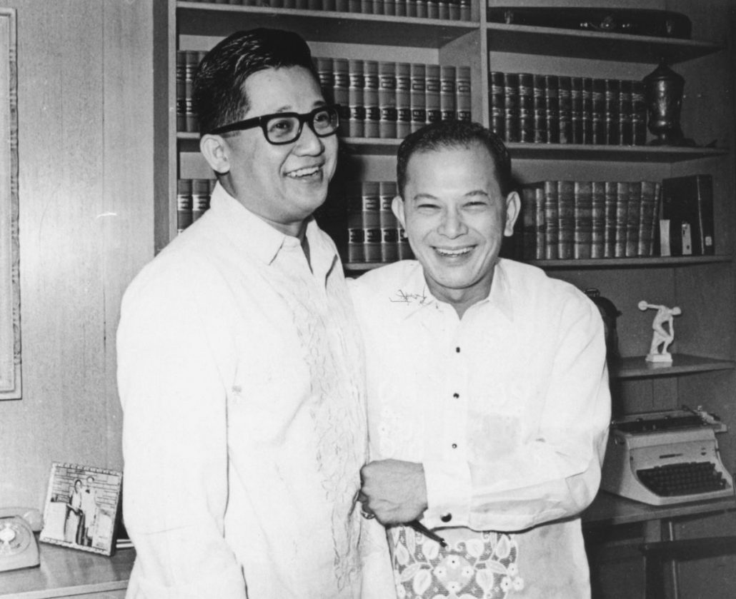 Ninoy and Doy Laurel